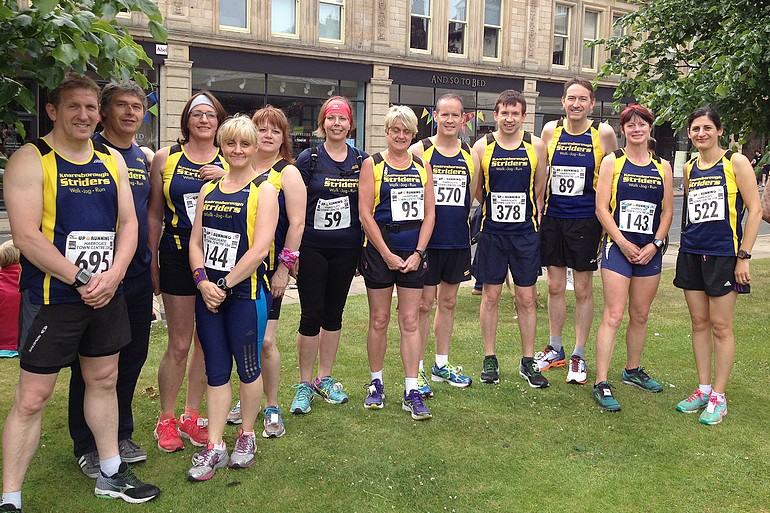 Striders at Harrogate 10K