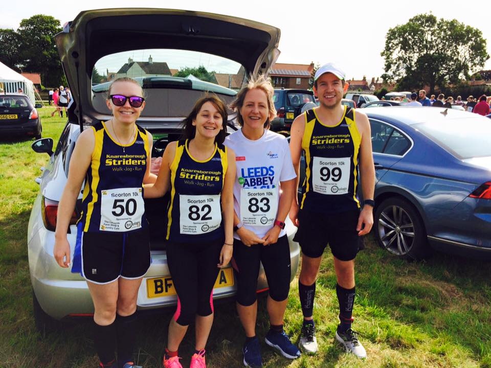 Striders at Scorton 10k
