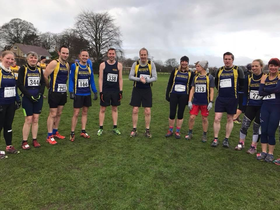 striders at muddy boots