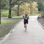 Gary Wilkinson racking up the miles in the Daffodil Dash