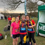 A trio of our Striders at the Harewood Half/10K