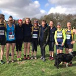 The Striders PECO relay squad + canine friend.