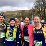 Some of our Striders up in the hills of Dentdale.